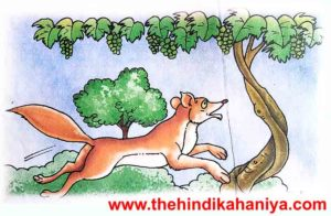 Fox story in hindi for kids - stoies in hindi for kids
